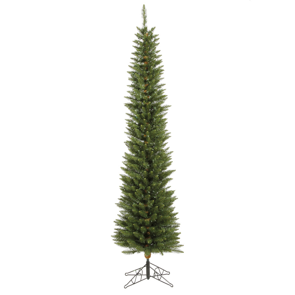 Vickerman 6.5Ft. Green 390 Tips Christmas Tree 200 Multi-color Wide Angle LED