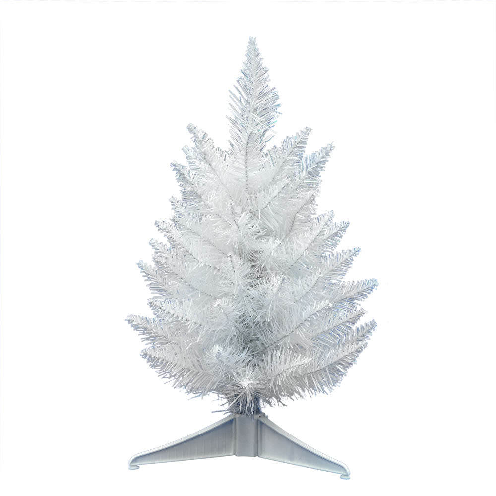 Vickerman 1.5 ft. Crystal White 55 Tips Christmas Tree