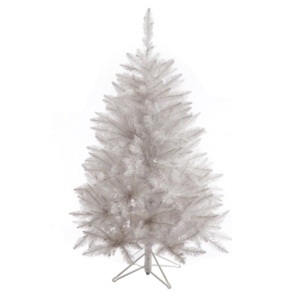 Vickerman 4.5Ft. Sparkle White 421 Tips Christmas Tree