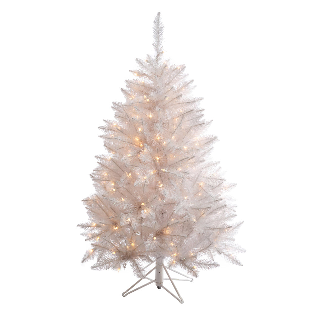 Vickerman 4.5Ft. Sparkle White 421 Tips Christmas Tree 200 Pure White LED Lights