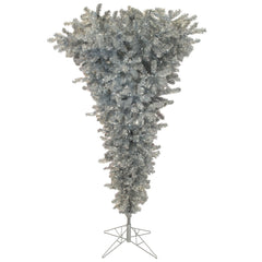 Vickerman 7.5 ft. x60 in. Silver Upside Down 500WmWh LED