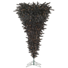 Vickerman 7.5 ft. x 60 in. Black UpsideDown Dura500CL