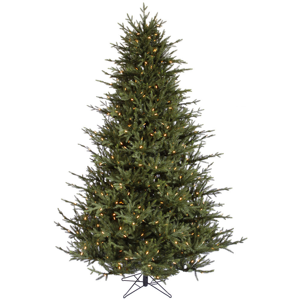Vickerman 5.5Ft. Green 1102 Tips Christmas Tree 350 Warm White LED Lights
