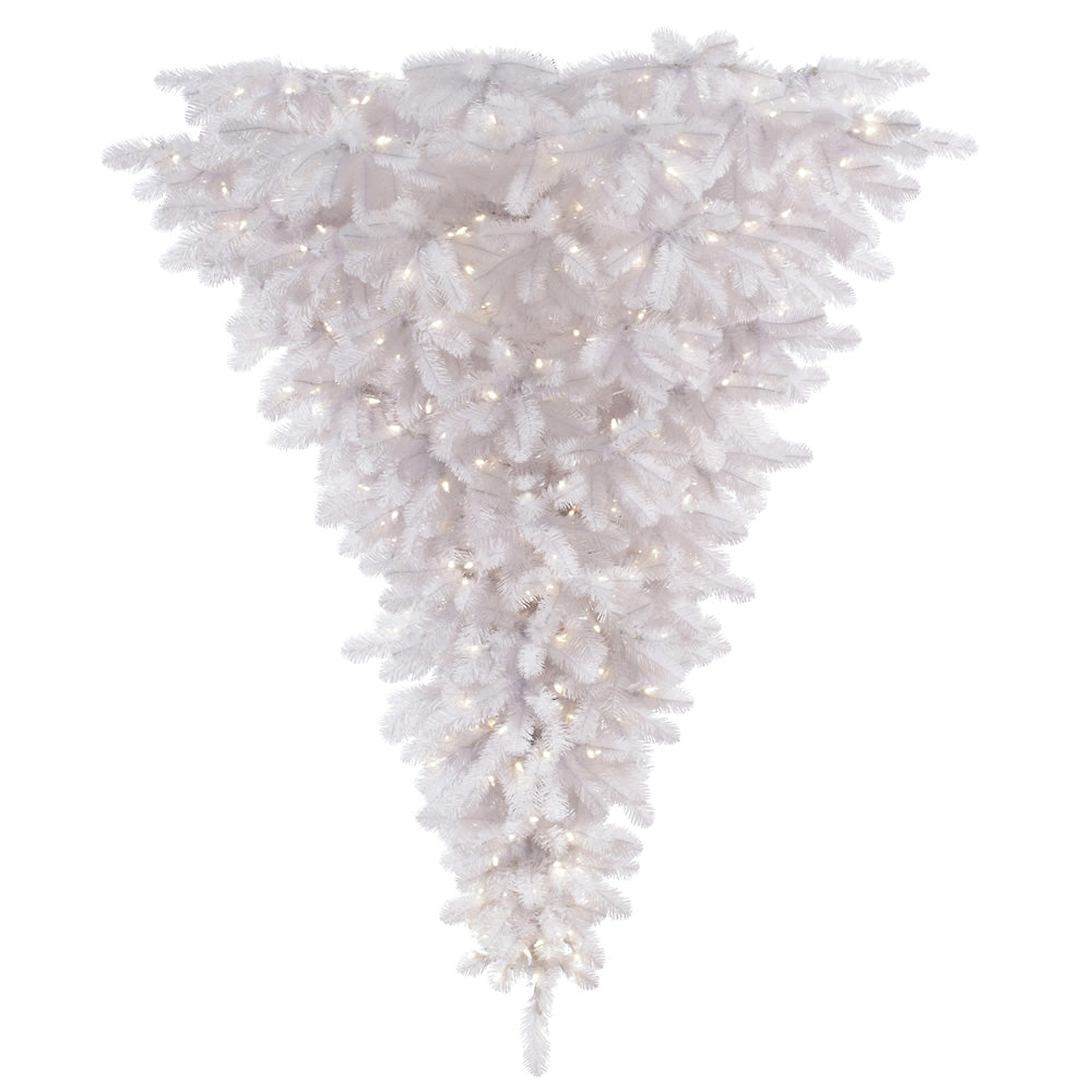 Vickerman 6 ft.x 61 in. White Upside Down Dura-Lit600CL