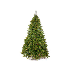 Vickerman 3.5Ft. Green 218 Tips Christmas Tree 110 Multi-color Italian LED