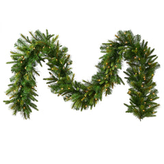Vickerman 25 ft. x 18 in. Cashmere Garland LED 300Warm White