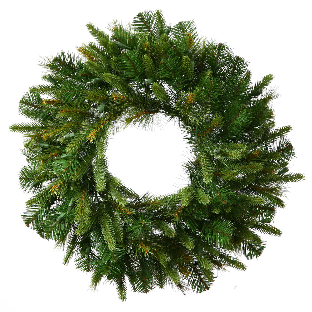 Vickerman Green 240 Tips Wreath