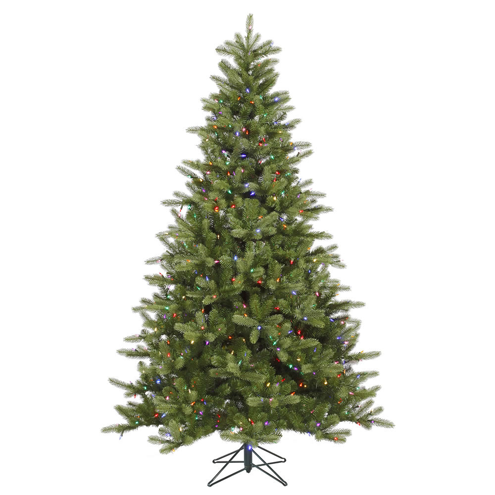 Vickerman 5.5Ft. Green 554 Tips Christmas Tree 250 Warm White LED Lights