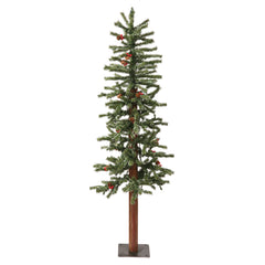 Vickerman 4Ft. Frosted 179 Tips Christmas Tree 100 Clear Dura-Lit