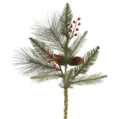 "18"" Vallejo Mix Pine Berry Spray 10T"