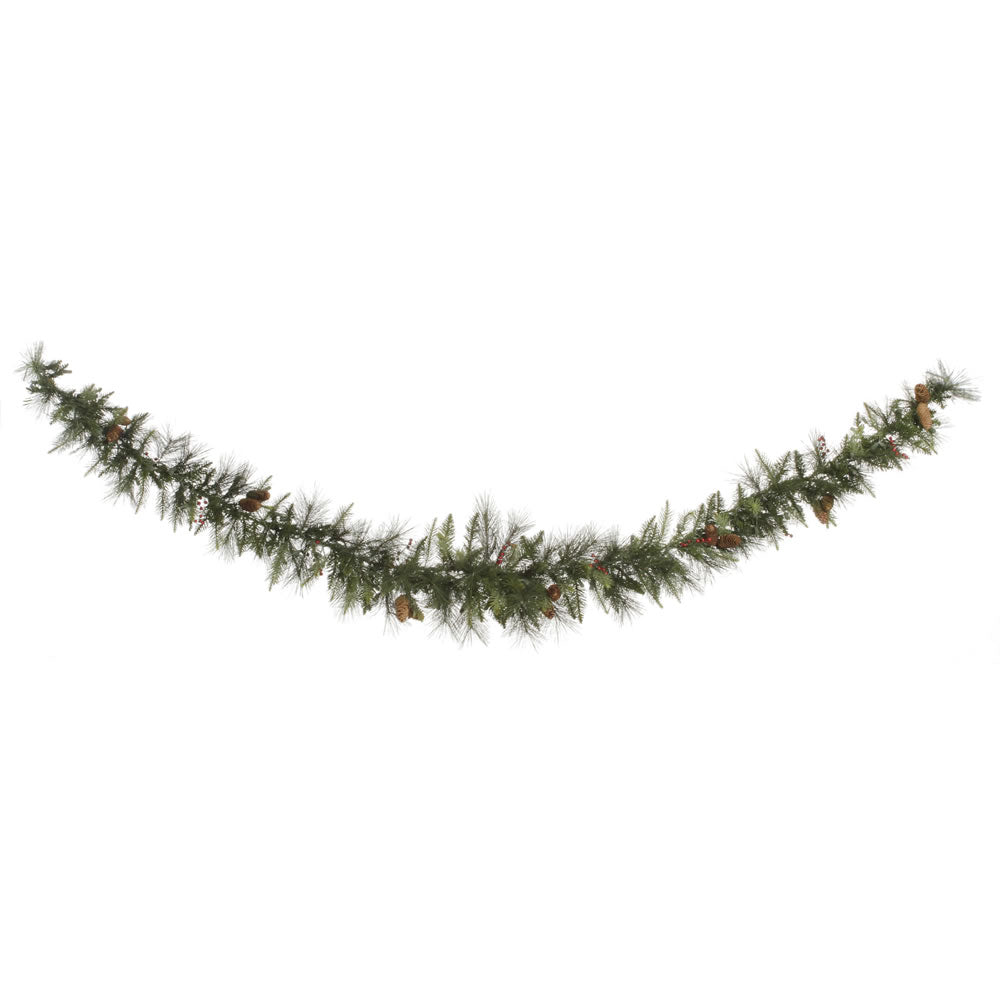 9' Vallejo Mix Berry Swag Garland 220T