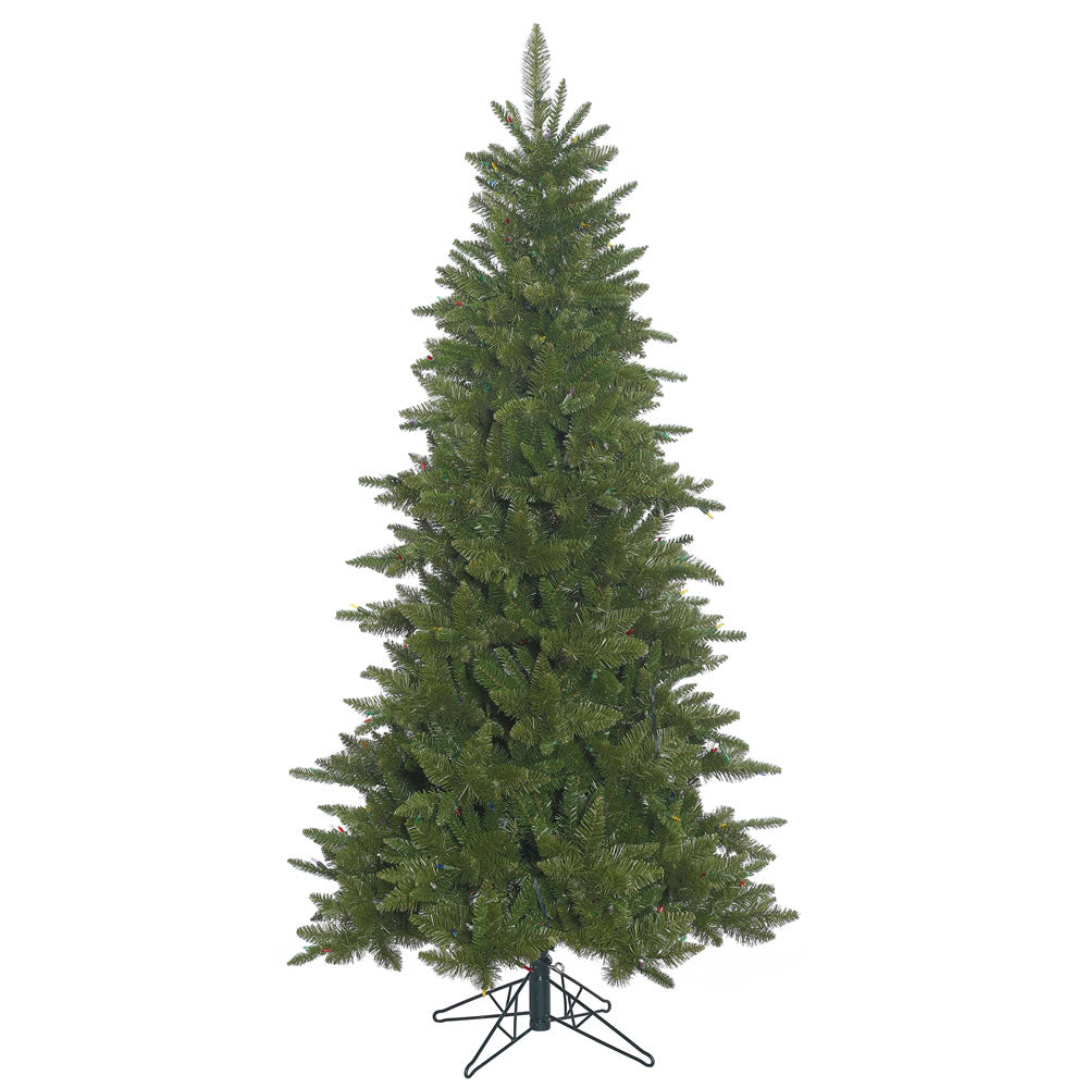 45Ft. Slim Durango Spruce Christmas Tree 514 Green PVC Tips a