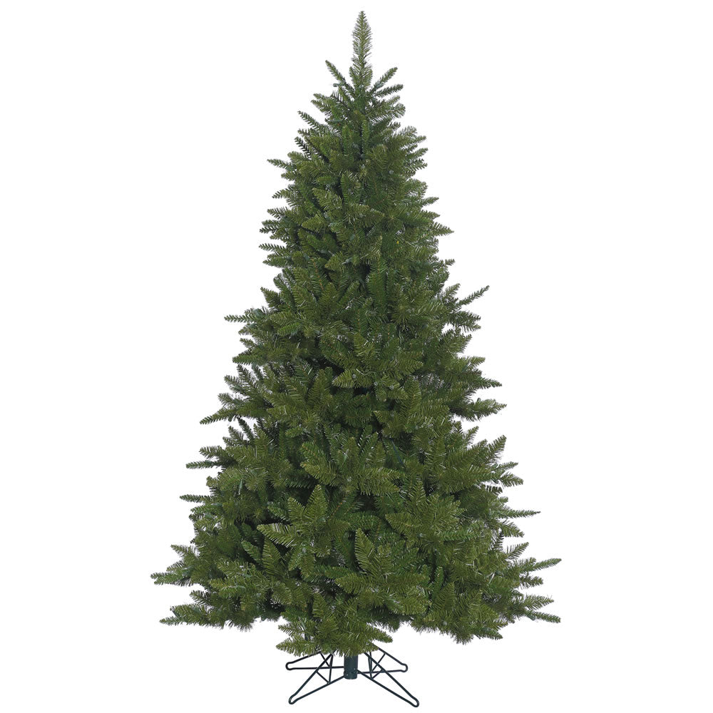 9Ft.  Durango Spruce Christmas Tree 2726 Green PVC Tips a Folding Metal Stand