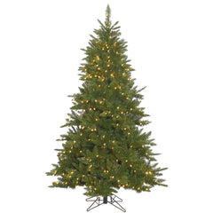 14Ft. Durango Spruce Christmas Tree 7192 Green PVC Tips 2500 Clear Lights