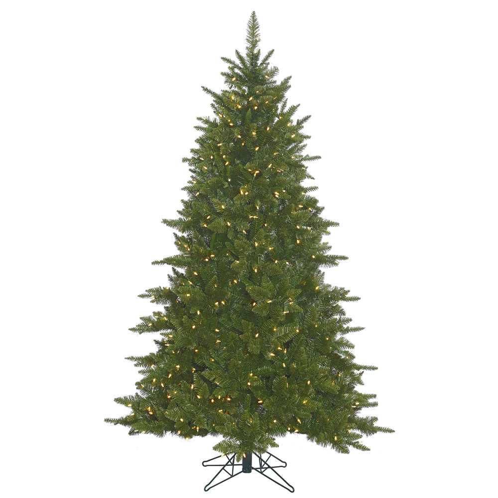 14Ft. Durango Spruce Christmas Tree Green PVC Tips 2500 Warm White LED Lights
