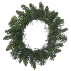 12in. Durango Spruce Wreath 40 Green PVC Tips