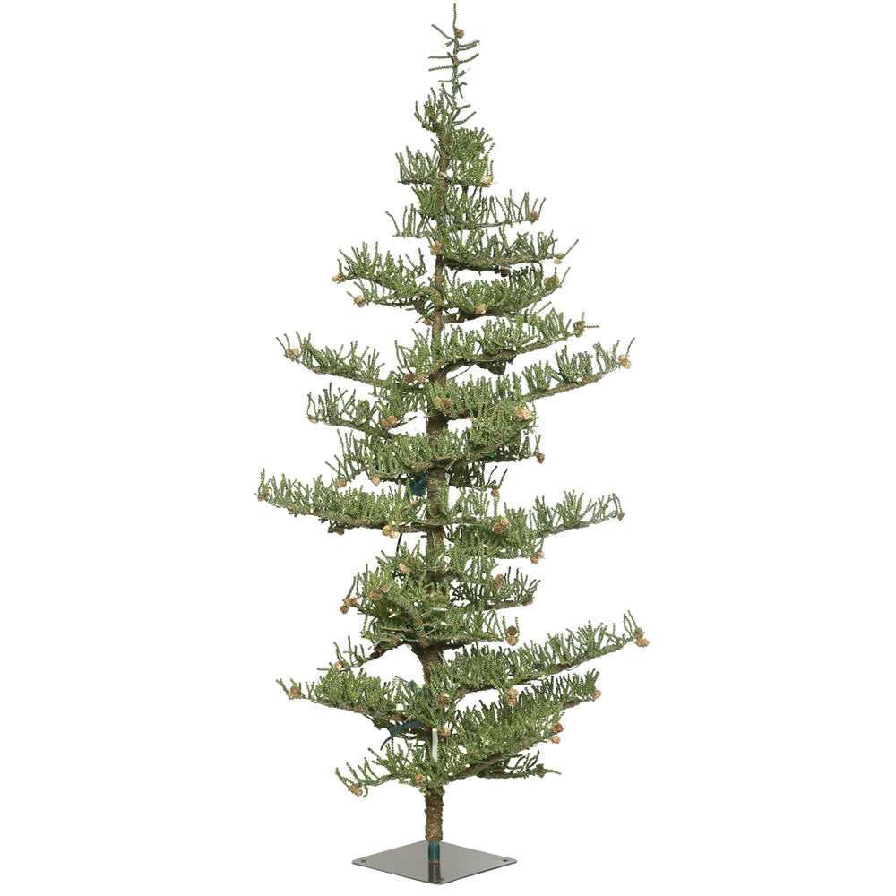 Vickerman 9' Crestview Pine Artificial Christmas Tree 300 Warm White LED Lights