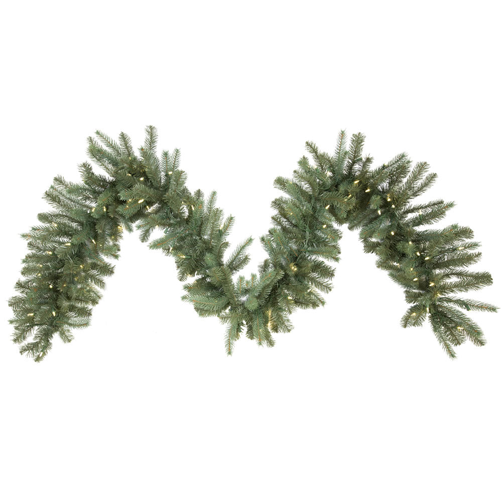 Vickerman 9 ft. x 14 in. Colorado Garland 100LED Warm White