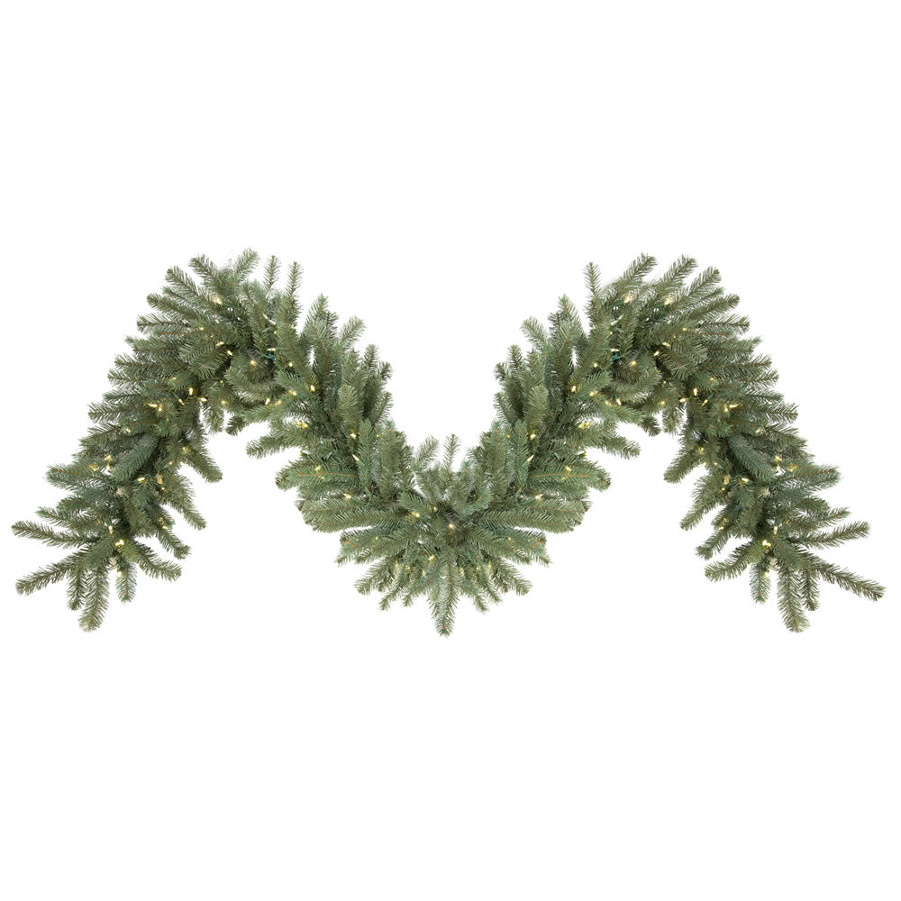 Vickerman 9 ft. x 18 in. Colorado Garland 150LED Warm White
