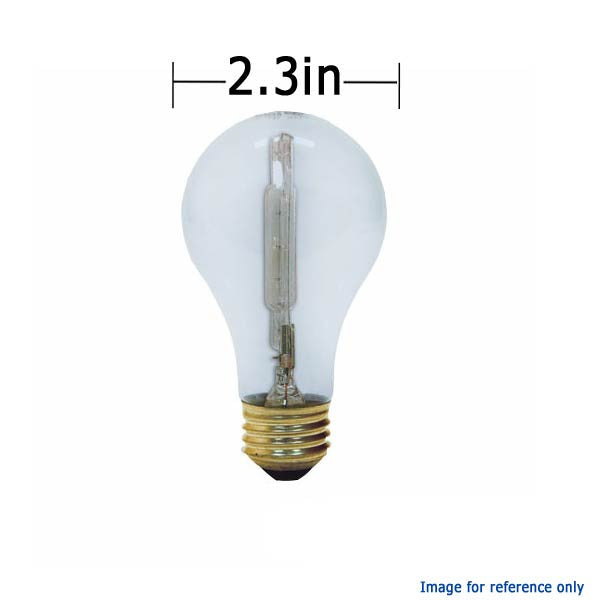 Ge 75w 120v A19 Reveal Full Spectrum Halogen Light Bulb Bulbamerica