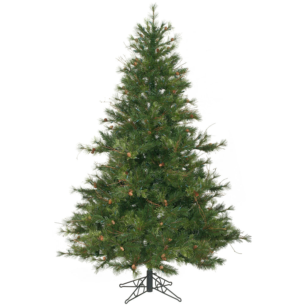 Vickerman 7.5Ft. Green 1624 Tips Christmas Tree