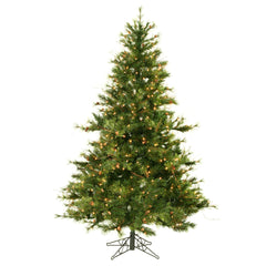 Vickerman 6.5Ft. Green 1000 Tips Christmas Tree 500 Clear Dura-Lit