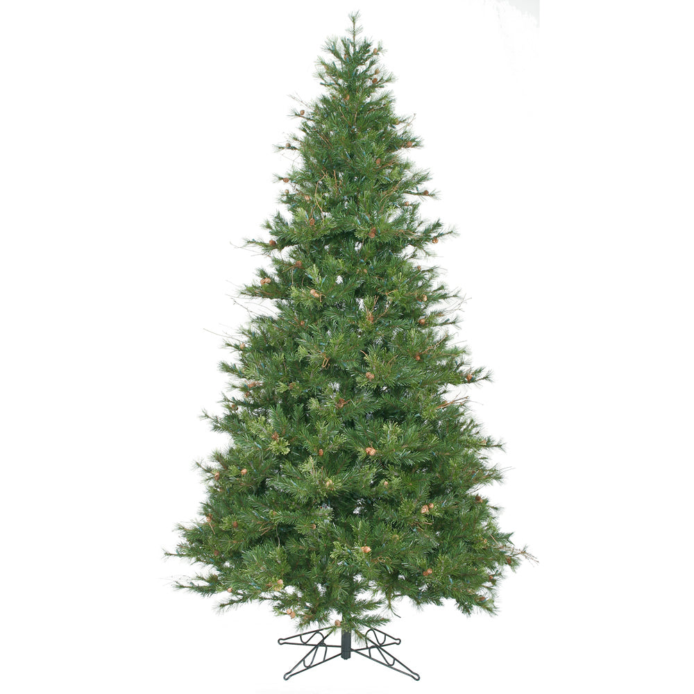 Vickerman 9Ft. Green 1956 Tips Christmas Tree