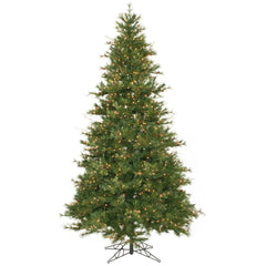 Vickerman 9Ft. Green 1956 Tips Christmas Tree 950 Clear Dura-Lit