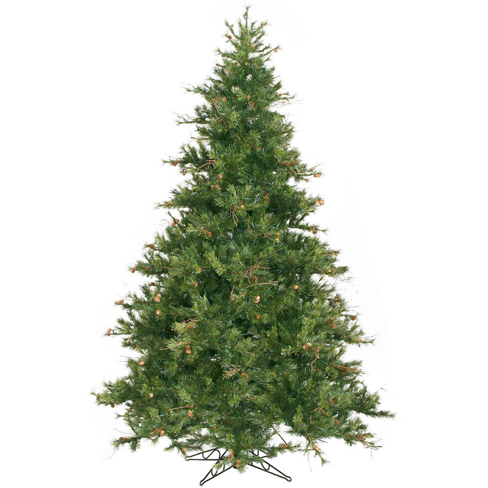 Vickerman 9Ft. Green 2362 Tips Christmas Tree