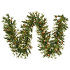 6' Mixed Country Swag Garland 70 Clear