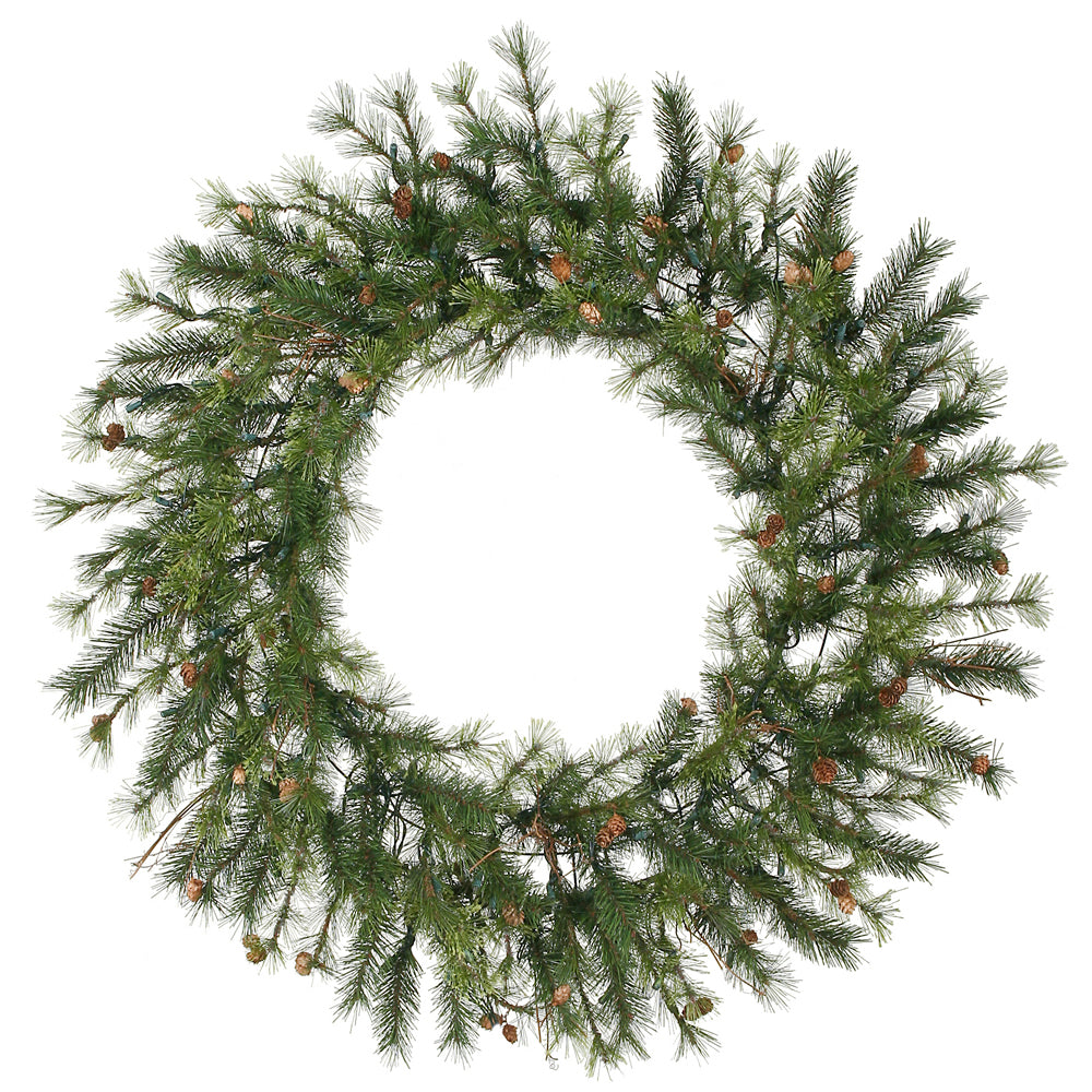 Vickerman 48in. Green 220 Tips Wreath