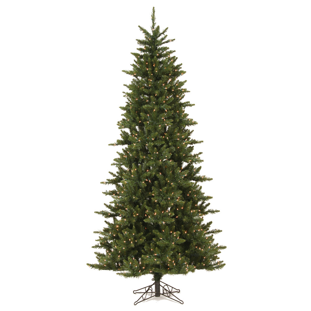 Vickerman 7.5Ft. Green 1438 Tips Christmas Tree 650 Warm White Wide Angle LED