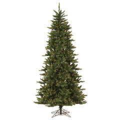 Vickerman 8.5Ft. Green 1838 Tips Christmas Tree 800 Clear Dura-Lit