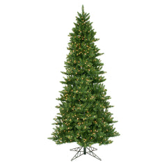 Vickerman 12Ft. Green 4018 Tips Christmas Tree 1800 Clear Dura-Lit