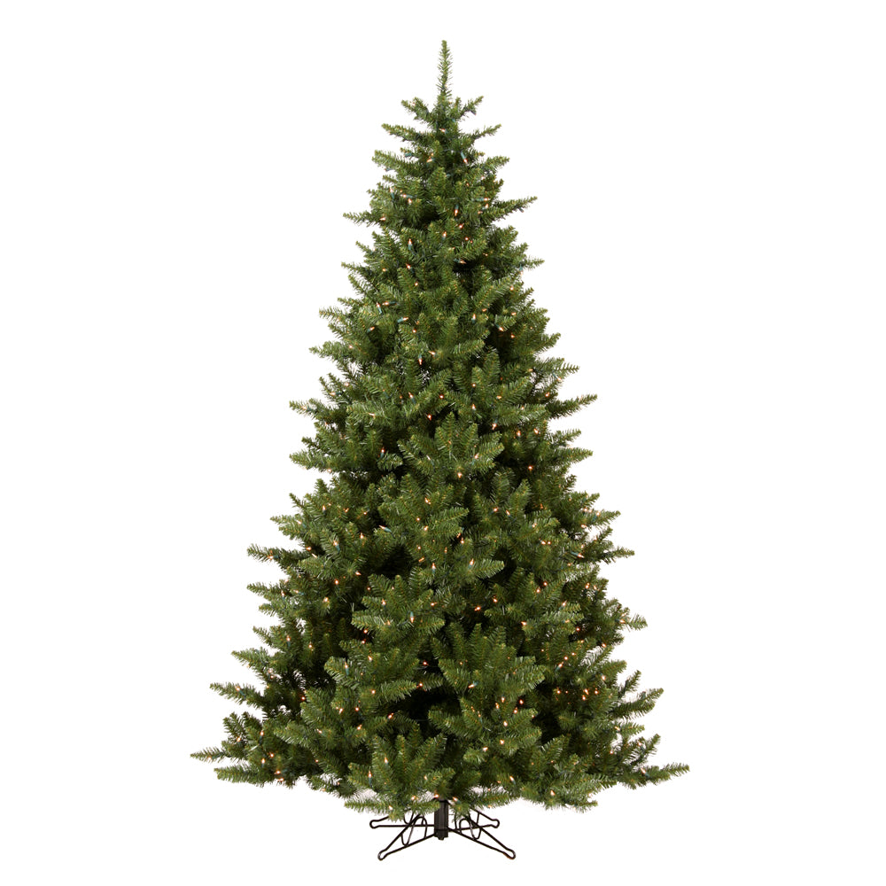 Vickerman 7.5Ft. Green 720 Tips Christmas Tree 800 Warm White Wide Angle LED