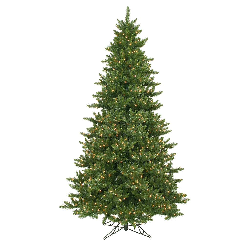 Vickerman 8.5Ft. Green 2294 Tips Christmas Tree 1050 Clear Dura-Lit