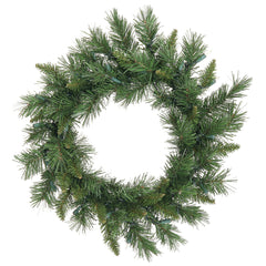 3 Pack - Vickerman 18in. Green 65 Tips Wreath