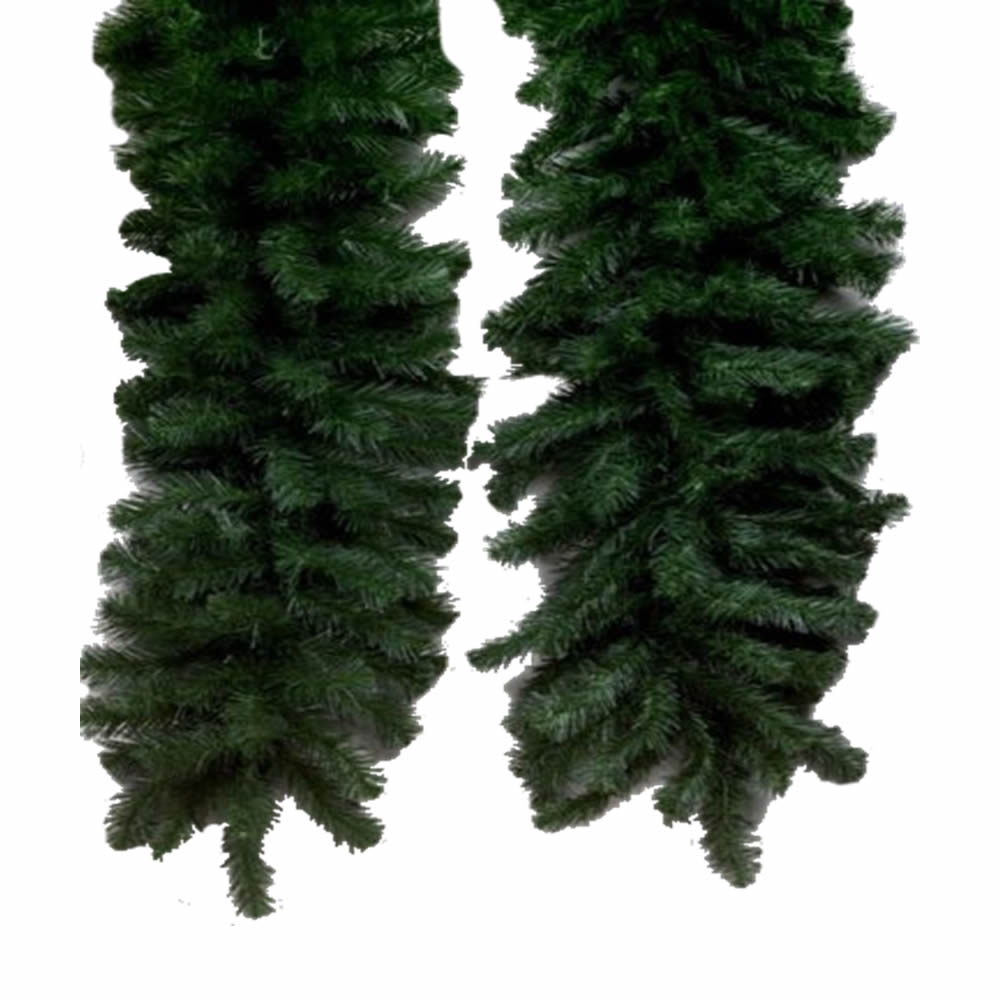 "9' X 12"" Douglas Fir Garland 240 Tips"