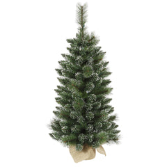 "3' x 17"" Mixed Snow Tip Pine Tree 134T"