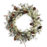 Vickerman 30in. Green 112 Tips Wreath