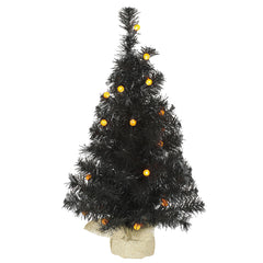 "24"" Black Pine Tree G12 25LED Orange"