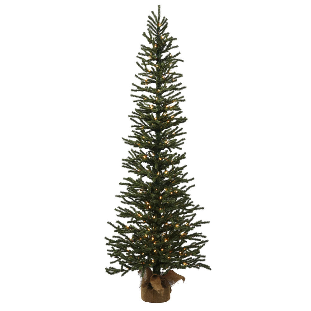 "3' x 11"" Mini Pine Tree 50CL Burlap Base"