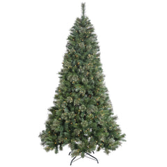 45Ft. x 30in. Butte Mixed Pine Tree 150 Clear Lights 345 PVC/Hardneedle Tips