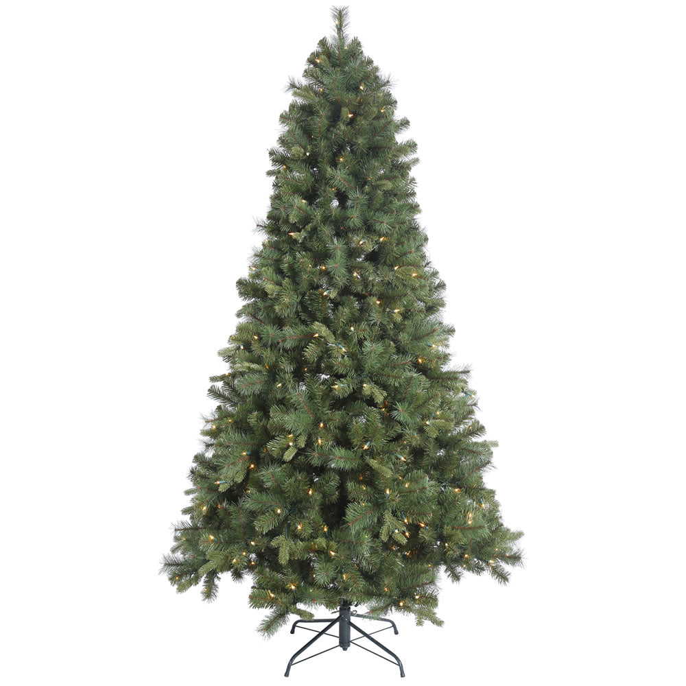 65Ft.  Classic Mixed Pine Tree 450 Clear Lights 1024Tips