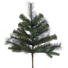 "24"" Classic Mixed Pine Christmas Spray - 27 PVC Tips"