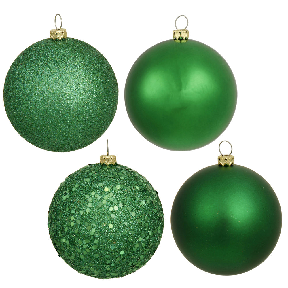 Vickerman 2.4 in. Green Ball Christmas Ornament