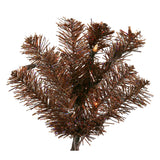 Vickerman 30in. Mocha 260 Tips Wreath 70 Clear Mini Lights_1