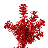 Vickerman 30in. Red 260 Tips Wreath 70 Red Mini Lights_1