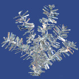 Vickerman 36in. Silver 320 Tips Wreath 100 Clear Mini Lights_1