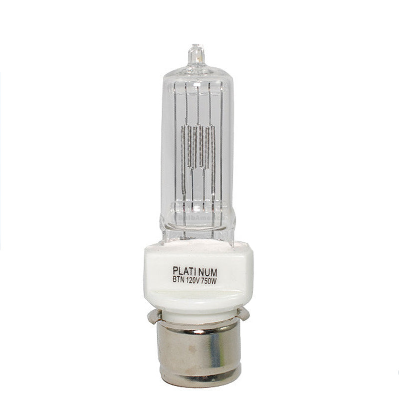 PLATINUM BTN 750w 120v P28s Base Halogen Light Bulb